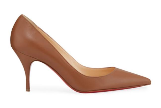 Item - Brown Clare Cuoio Leather Nappa 85mm Stiletto Pumps Size EU 40 (Approx. US 10) Regular (M, B)