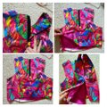 MILLY Multicolor Style Crew Neck Cropped Halter Top Size 10 (M) MILLY Multicolor Style Crew Neck Cropped Halter Top Size 10 (M) Image 5