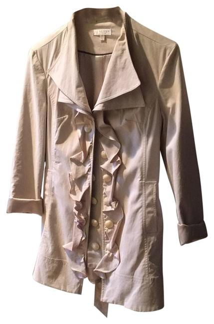 Item - Beige Coat Jacket Size 4 (S)
