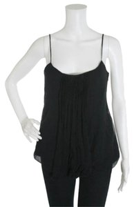 Elizabeth and James Silk Cami Top Black