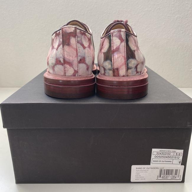 Band of Outsiders Burgundy Saddle Patent Leather - Pattern. Formal Shoes Size EU 35 (Approx. US 5) Regular (M, B) Band of Outsiders Burgundy Saddle Patent Leather - Pattern. Formal Shoes Size EU 35 (Approx. US 5) Regular (M, B) Image 2