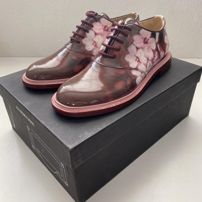 Band of Outsiders Burgundy Saddle Patent Leather - Pattern. Formal Shoes Size EU 35 (Approx. US 5) Regular (M, B) Band of Outsiders Burgundy Saddle Patent Leather - Pattern. Formal Shoes Size EU 35 (Approx. US 5) Regular (M, B) Image 3