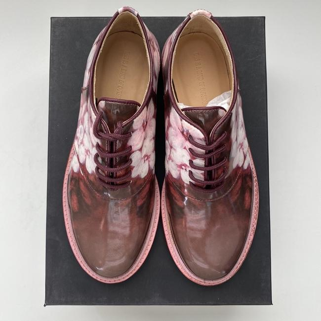 Band of Outsiders Burgundy Saddle Patent Leather - Pattern. Formal Shoes Size EU 35 (Approx. US 5) Regular (M, B) Band of Outsiders Burgundy Saddle Patent Leather - Pattern. Formal Shoes Size EU 35 (Approx. US 5) Regular (M, B) Image 4
