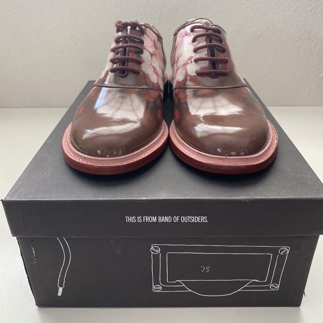 Band of Outsiders Burgundy Saddle Patent Leather - Pattern. Formal Shoes Size EU 35 (Approx. US 5) Regular (M, B) Band of Outsiders Burgundy Saddle Patent Leather - Pattern. Formal Shoes Size EU 35 (Approx. US 5) Regular (M, B) Image 5