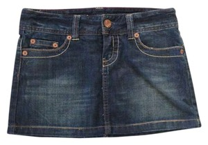 American Eagle Outfitters Mini Skirt Denim