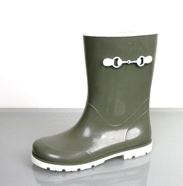 Item - Green Horsebit W Children's Rubber Rain Boot W/Horsebit 33/Us 14 285288 3462 Shoes