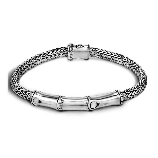Item - Sterling Silver Bamboo Classic Chain 1696 Bracelet