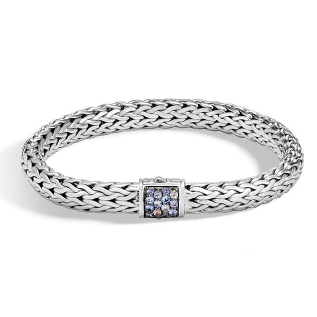 John Hardy Sterling Silver Classic Chain Gray Sapphire 1685 Bracelet John Hardy Sterling Silver Classic Chain Gray Sapphire 1685 Bracelet Image 1