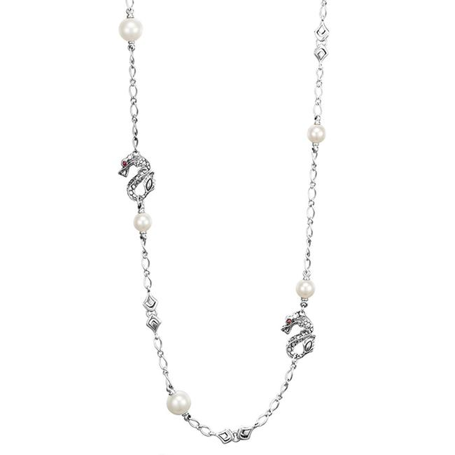 """Item - Sterling Silver Dragon Legends Pearl 36"""" 1660 Necklace"""
