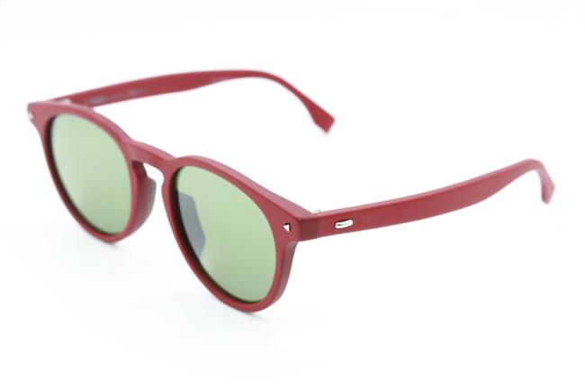 Item - C9a Red M0001/S Round Grey Sunglasses