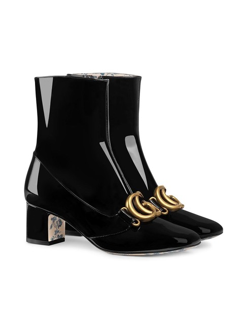 Item - Double G Patent Leather Ankle Boots/Booties Size EU 42 (Approx. US 12) Regular (M, B)
