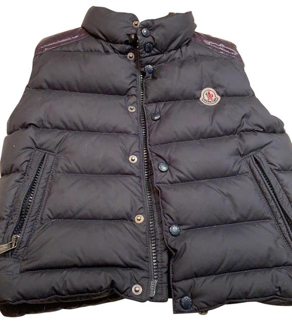 Item - Very Dark Blue Almost Black Little Boy Down Fits From 1 To 2 5 Years Old Vest Size OS (one size)
