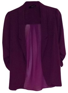 Ark & Co. Magenta/Purple Blazer