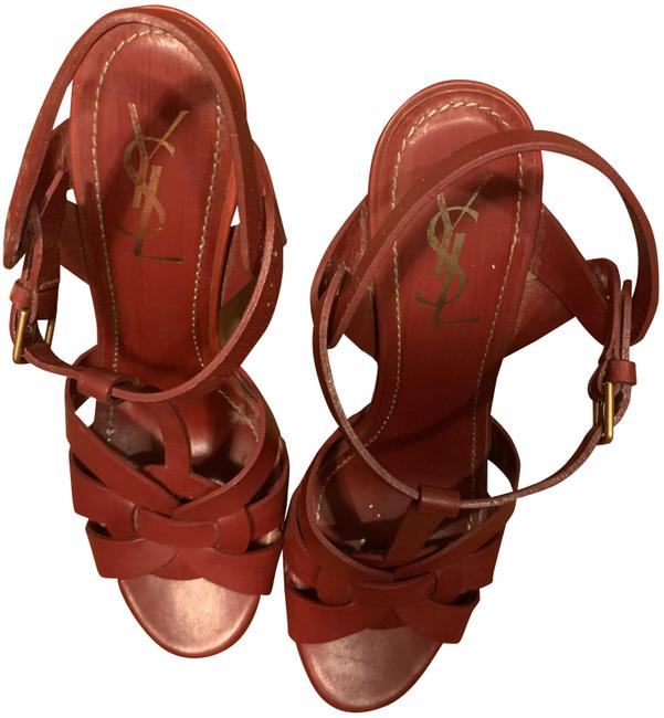 Item - Red Tribute Sandals Size EU 40 (Approx. US 10) Regular (M, B)