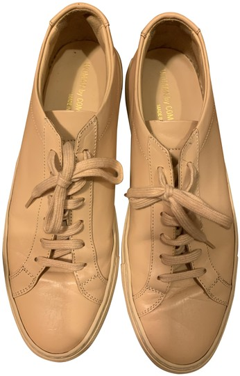 Common Projects Beige Achilles Sneakers