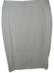 Grace Elements Ivory Stretch Skirt