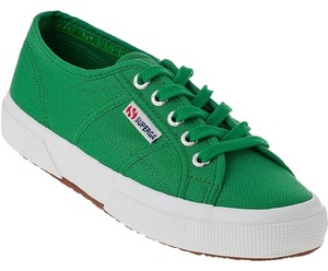 Superga Sneakers Green Athletic