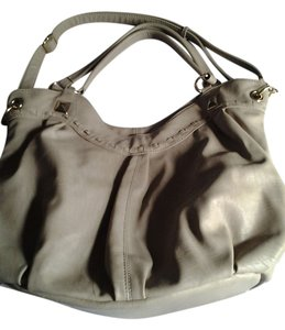 leather usa Satchel in beige