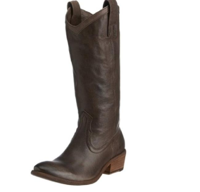 Item - Smoke Antique 'carson' Pull-on Western Boots/Booties Size US 8.5 Regular (M, B)
