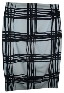 Express Pencil Graphic Skirt