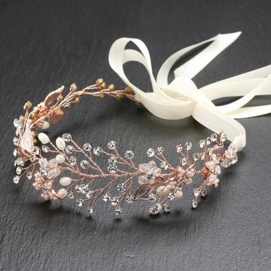 Preload https://img-static.tradesy.com/item/27656690/mariell-rose-gold-headband-with-hand-painted-and-silver-leaves-4384hb-i-hair-accessory-0-0-540-540.jpg