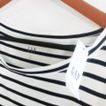 Gap Blue White Luxe Striped Tee Shirt Size 6 (S) Gap Blue White Luxe Striped Tee Shirt Size 6 (S) Image 4