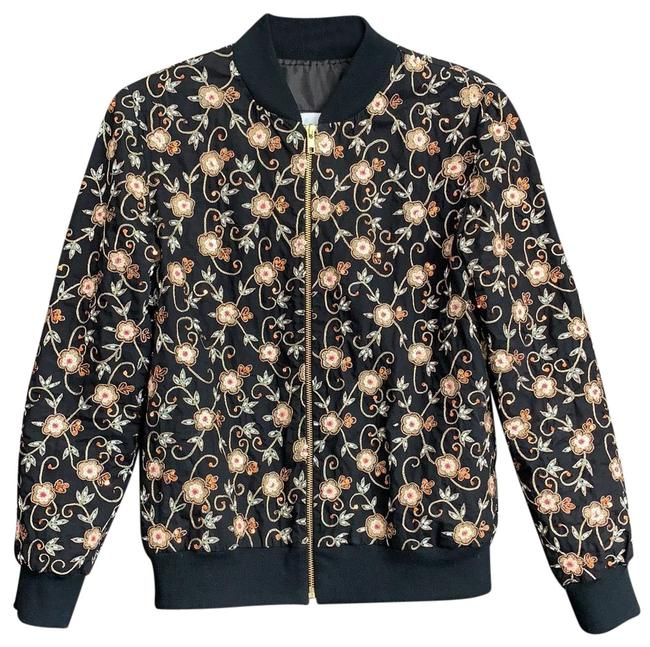 Item - Embroidered Bomber Jacket Size 4 (S)