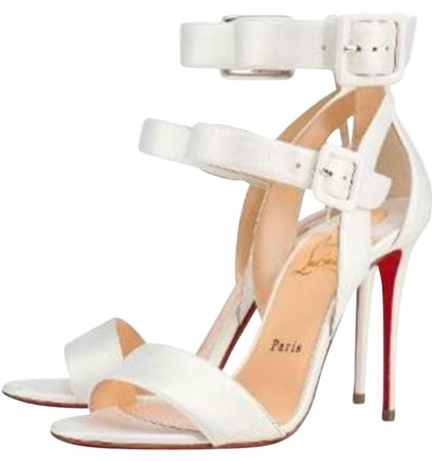 Item - Snow White Multipot 100 Leather Ankle Strap Pumps Sandals Size EU 37 (Approx. US 7) Regular (M, B)
