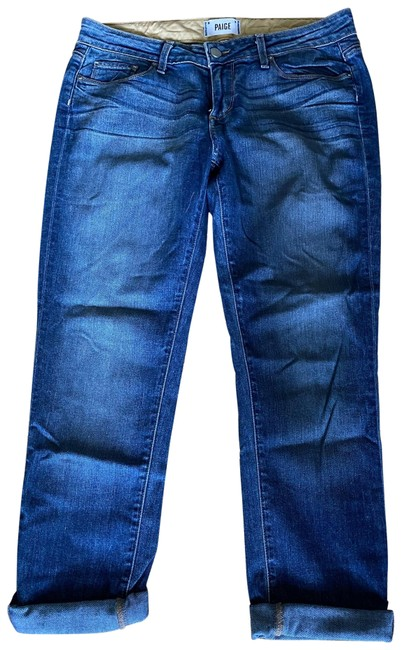 Item - Medium Wash Jimmy Jimmy Skinny Boyfriend Cut Jeans Size 4 (S, 27)