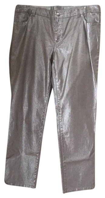 Item - Silver Platinum In Straight Leg Jeans Size 16 (XL, Plus 0x)