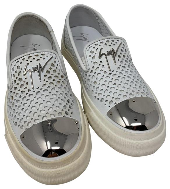 Item - White Silver New 36730144 Sneakers Size EU 36.5 (Approx. US 6.5) Regular (M, B)