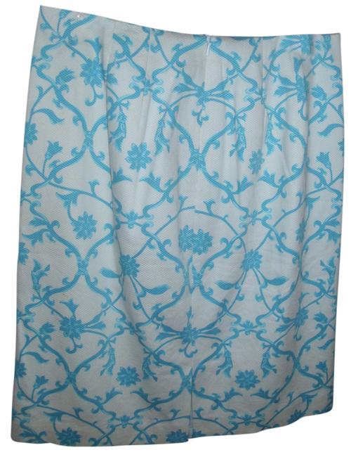 Preload https://item1.tradesy.com/images/talbots-cornflower-blue-and-off-white-floral-swirl-print-patterned-size-4-s-27-2766280-0-0.jpg?width=400&height=650