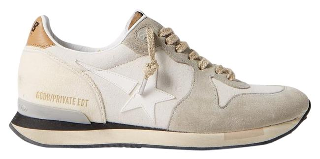 Item - Running Canvas Leather and Suede Sneakers Size EU 37 (Approx. US 7) Regular (M, B)