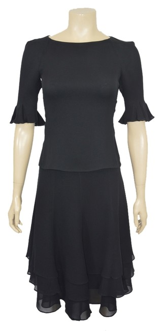 Preload https://item4.tradesy.com/images/emporio-armani-black-pc-silk-top-and-skirt-dl-knee-length-night-out-dress-size-2-xs-2766478-0-0.jpg?width=400&height=650