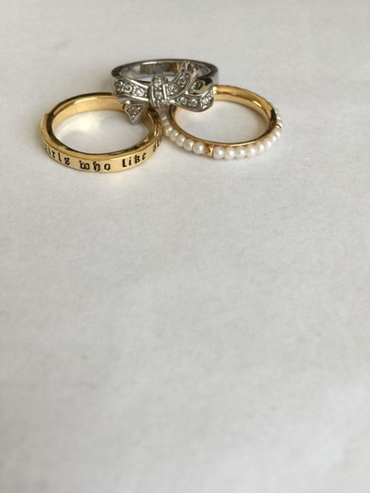 Juicy Couture Juicy Couture 3 stackable rings
