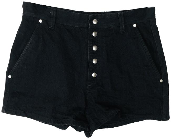 Item - Black Branson High Waist Jean Exposed Shorts Size 8 (M, 29, 30)