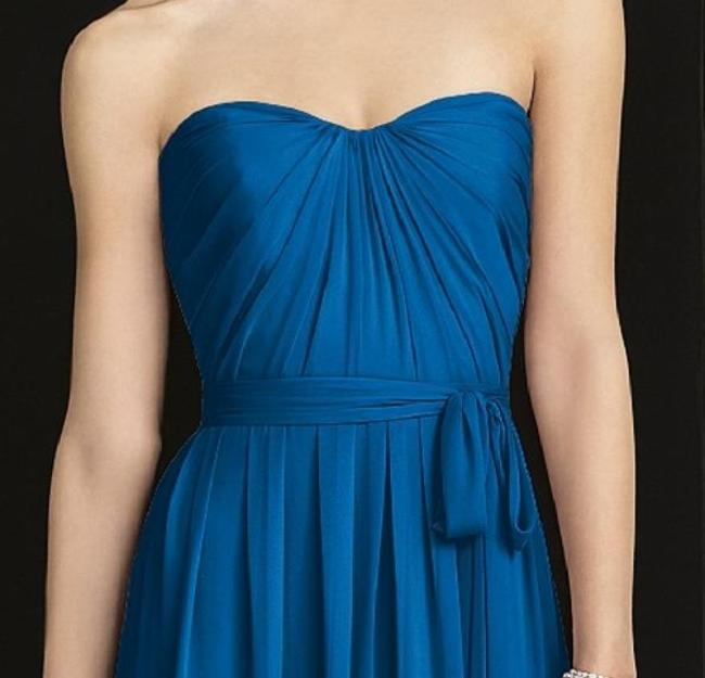 After Six Strapless Full Length Dress