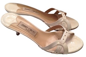 Jimmy Choo Patent Next Day Shipping white Sandals