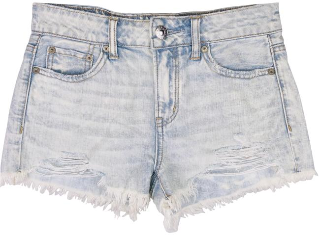 American Eagle Outfitters Blue Tomgirl Light Wash Jean Shorts Size 00 (XXS, 24) American Eagle Outfitters Blue Tomgirl Light Wash Jean Shorts Size 00 (XXS, 24) Image 1