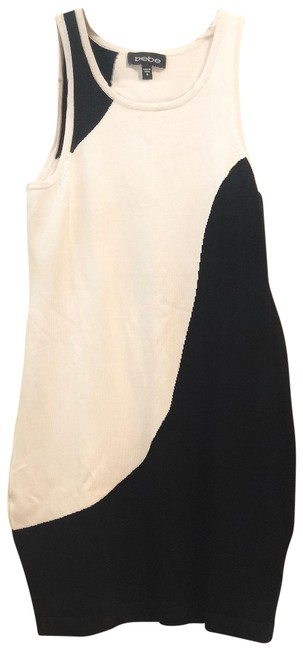 Item - White Bodycon Short Night Out Dress Size 4 (S)