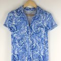 Lilly Pulitzer Blue Sadie Polo Short Casual Dress Size 0 (XS) Lilly Pulitzer Blue Sadie Polo Short Casual Dress Size 0 (XS) Image 4