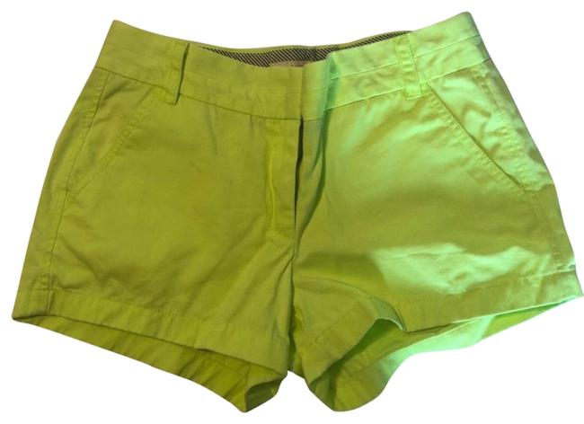 Item - Neon Yellow Chinos Shorts Size 4 (S, 27)