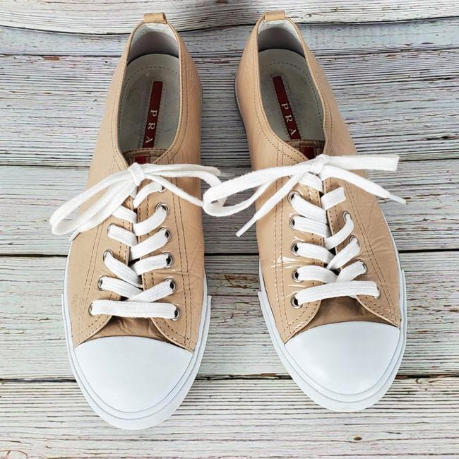 Item - Nude Patent Leather Sneakers Size US 8.5 Regular (M, B)