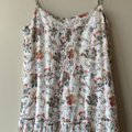 Joie White Floral Summer Cotton Long Casual Maxi Dress Size 2 (XS) Joie White Floral Summer Cotton Long Casual Maxi Dress Size 2 (XS) Image 3