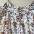 Joie White Floral Summer Cotton Long Casual Maxi Dress Size 2 (XS) Joie White Floral Summer Cotton Long Casual Maxi Dress Size 2 (XS) Image 9