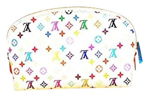 Louis Vuitton Authentic Louis Vuitton Murakami Multicolore Cosmetic Pouch
