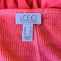 LOGO by Lori Goldstein Coral Jersey Tunic Size 10 (M) LOGO by Lori Goldstein Coral Jersey Tunic Size 10 (M) Image 4