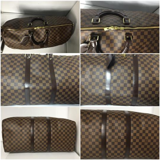 Louis Vuitton Keepall 55 Bandouliere 55 Keepall Bandouliere Neverfull Speedy Brown Travel Bag