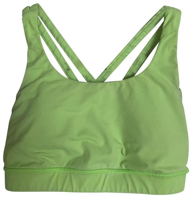 Item - Lime Green Energy Activewear Sports Bra Size 4 (S)