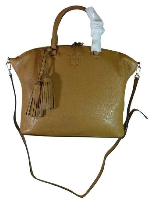 Item - Thea Slouchy Brown Leather Satchel
